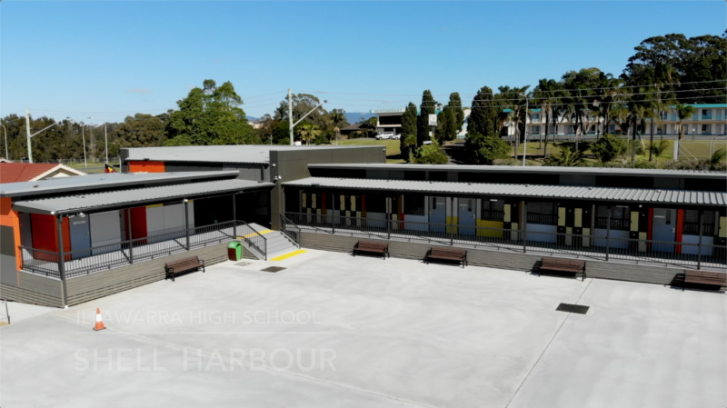 Shell Harbour High School Construction – Time-lapse